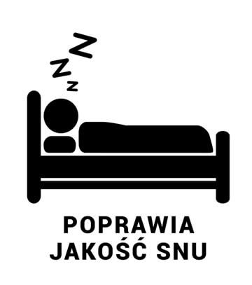 Poprawia jakość snu