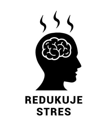 Redukuje stres