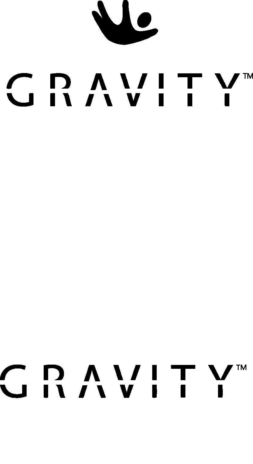 Gravity® Blanket logo z symbolem