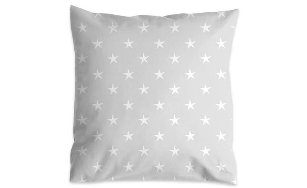 Poduszka terapeutyczna szare gwiazdy