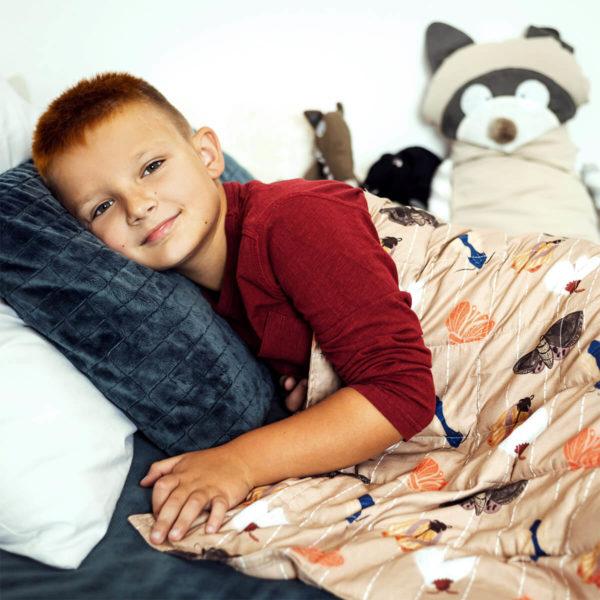 Kołderka obciążeniowa Senso-Rex® Kids Moths